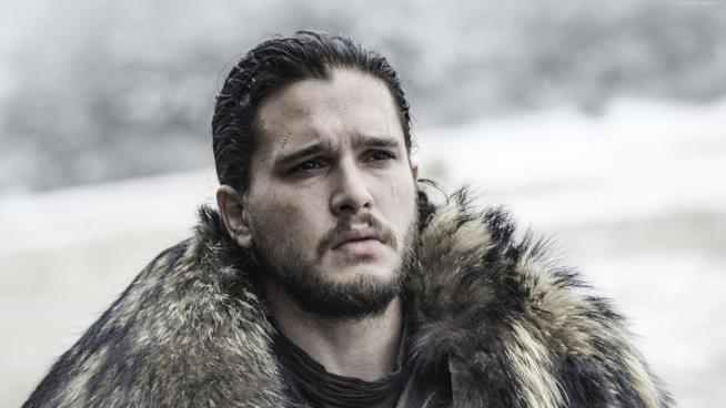Jon Snow in una scena di Game of Thrones