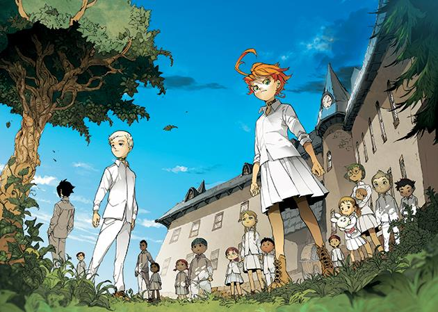 The Promised Neverland, l'anime in arrivo