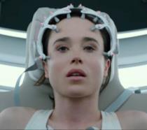 Primo piano di Ellen Page protagonista di Flatliners