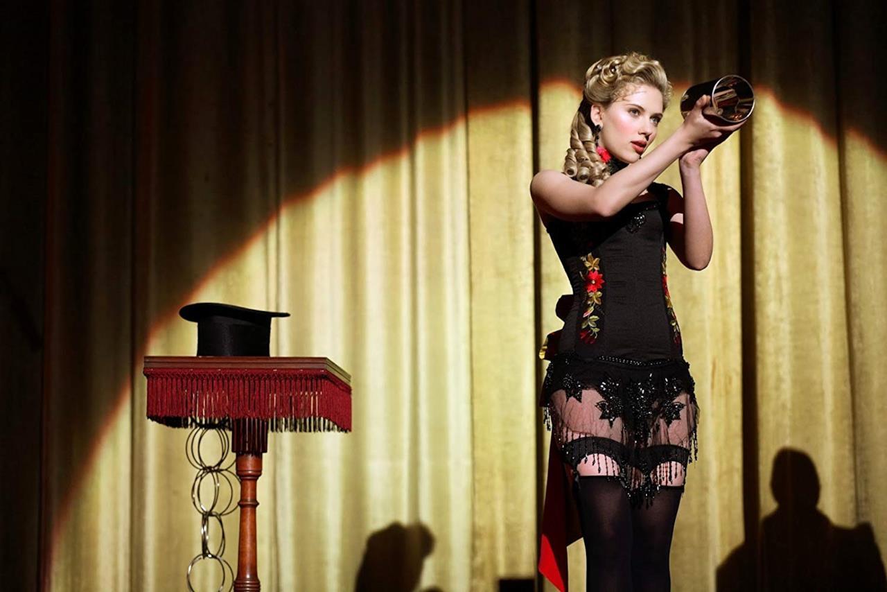 Olivia Wenscombe in una scena del film
