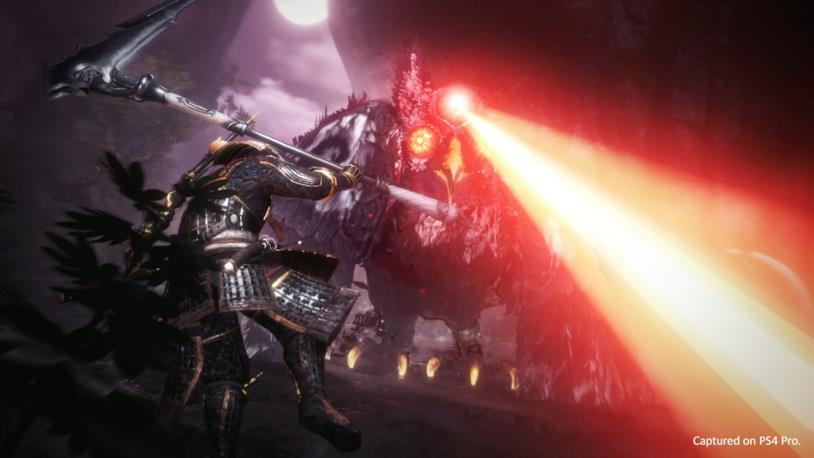 Nioh 2 boss fight