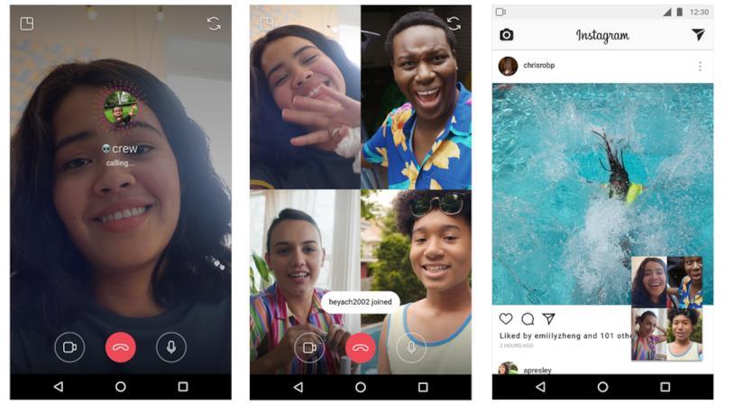 Instagram: come effettuare una videochiamata di gruppo all'interno di una chat