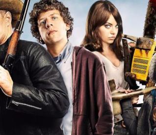 Il cast di Zombieland nel primo film