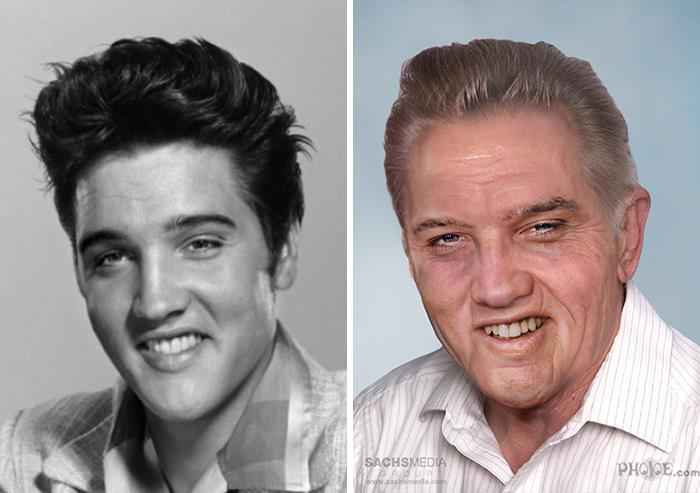 Come sarebbe Elvis Presley oggi