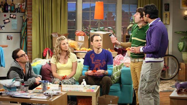 Una scena di The Big Bang Theory