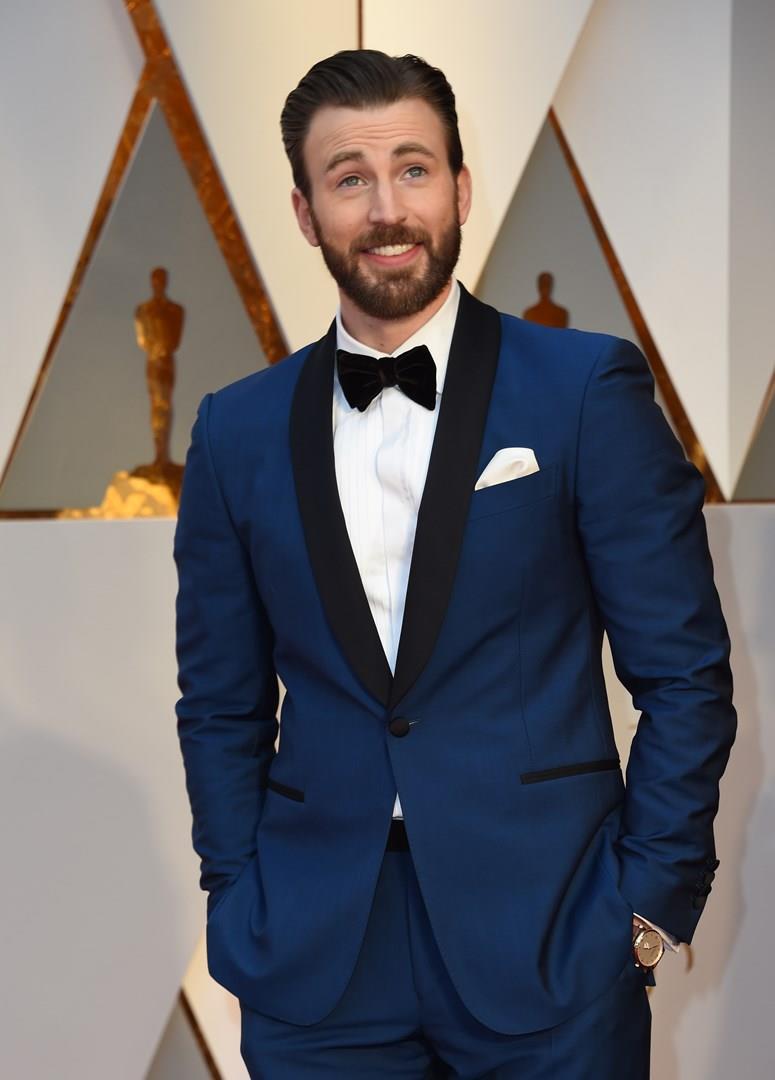 Chris Evans agli Oscar 2017