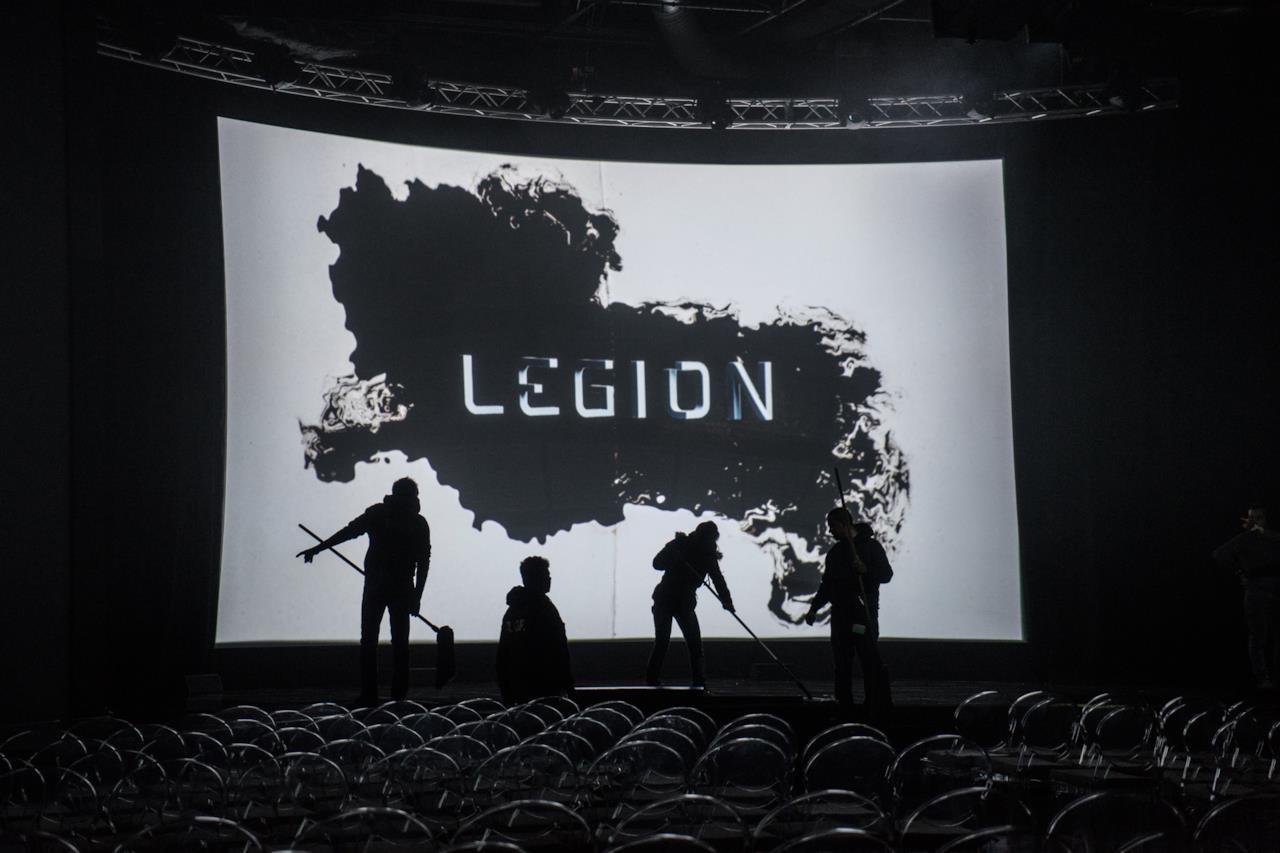 Legion è stato uno dei titoli proiettati in anteprima