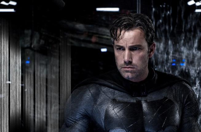 Ben Affleck in una scena di Batman v Superman