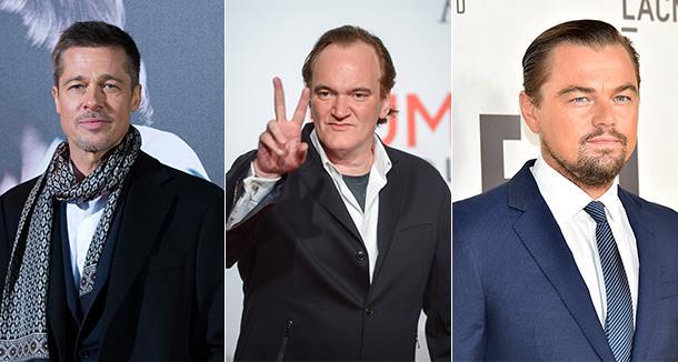 Nuovo film Tarantino con Brad Pitt e Leonardo Di Caprio