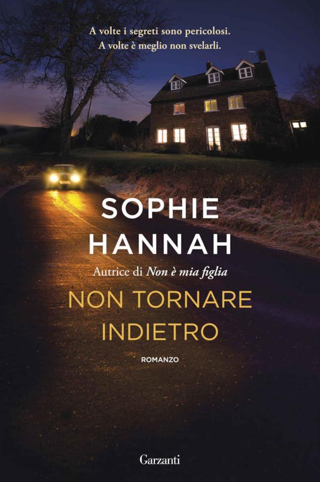 Copertina del nuovo thriller di Sophie Hannah