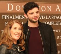 Michael Fox e Phyllis Logan a Milano
