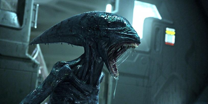 Un'immagine dal set di Alien: Covenant