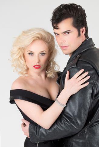 Grease: i protagonisti Guglielmo Scilla e Lucia Blanco