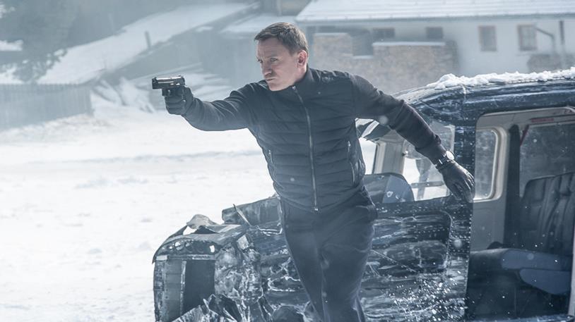 Daniel Craig in una sequenza di Spectre