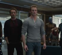 Una scena di Avengers. Endgame