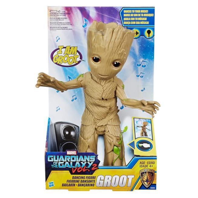 Il modellino di Dancing Groot