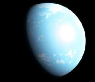 """L'immagine rilasciata dalla NASA che ritrae la nuova """"super Terra"""" scovata dal telescopio TESS"""
