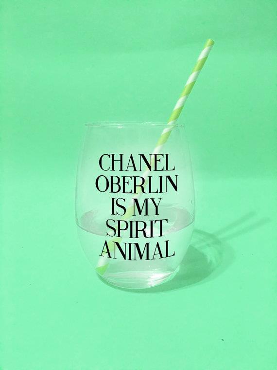 Chanel Oberlin bicchiere di vetro