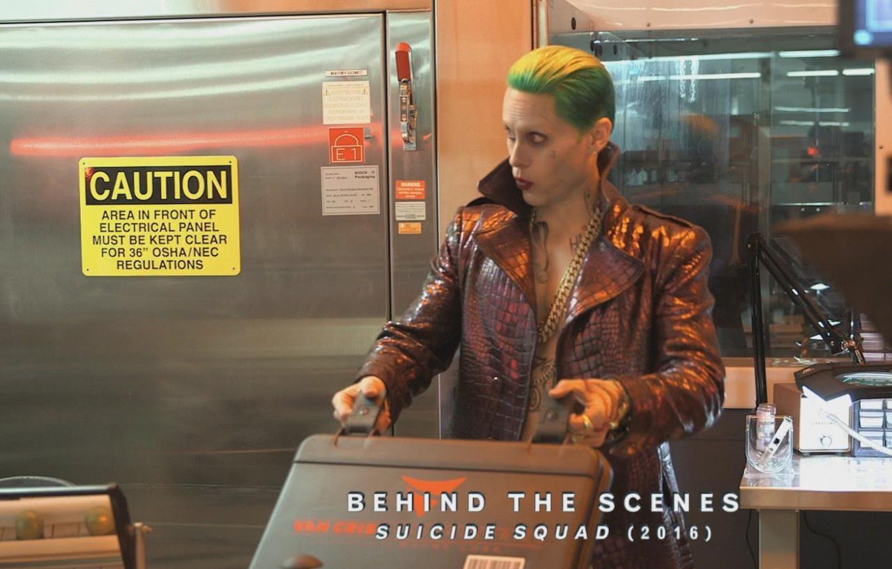 Il Joker deve prestare attenzione in Suicide Squad