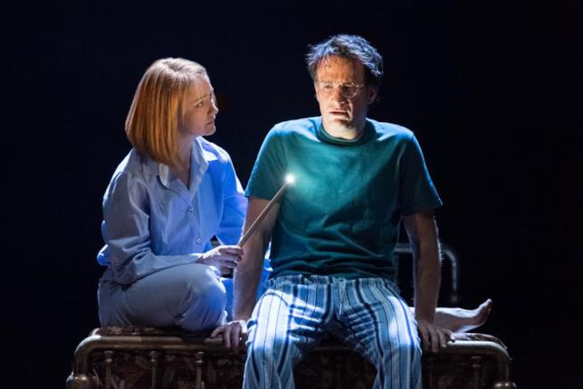 Poppy Miller e Jamie Parker in Harry Potter and the Cursed Child