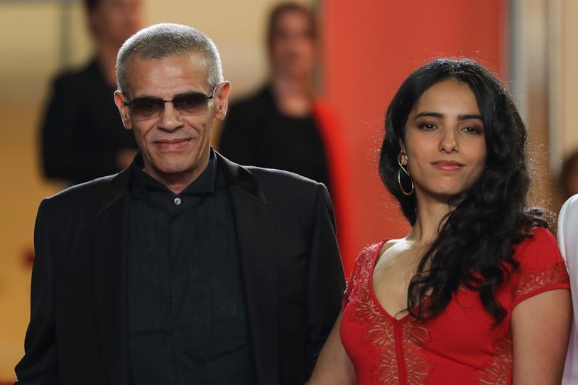 Abdellatif Kechiche e Hafsia Herzi a Cannes 2019