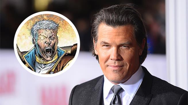 Josh Brolin è Cable in Deadpool 2