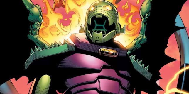 Illustrazione di Annihilus in una pagina dei fumetti Marvel