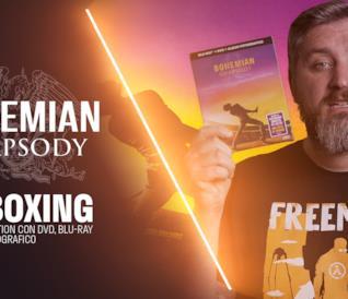 Bohemian Rhapsody, l'unboxing dalla Digibook Edition con DVD, Blu-ray e album fotografico