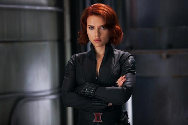 Scarlett Johansson è la sexy Vedova Nera
