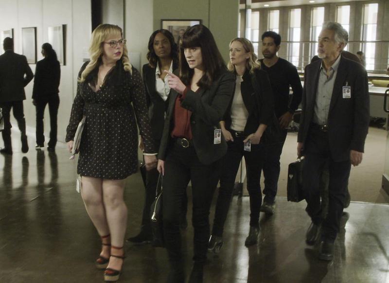 Criminal Minds una scena dall'episodio 14x11: Luci notturne