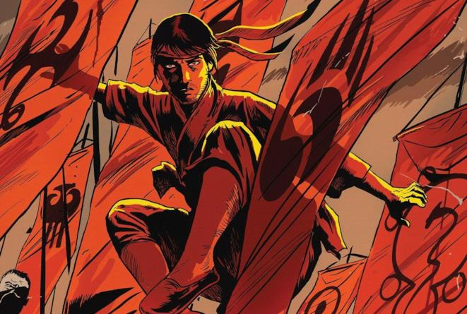 Cover di Master of Kung Fu #3