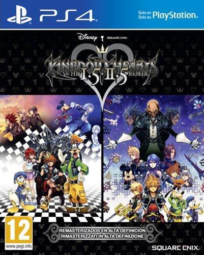 Packshot di Kingdom Hearts HD 1.5 + 2.5: ReMIX per PS4