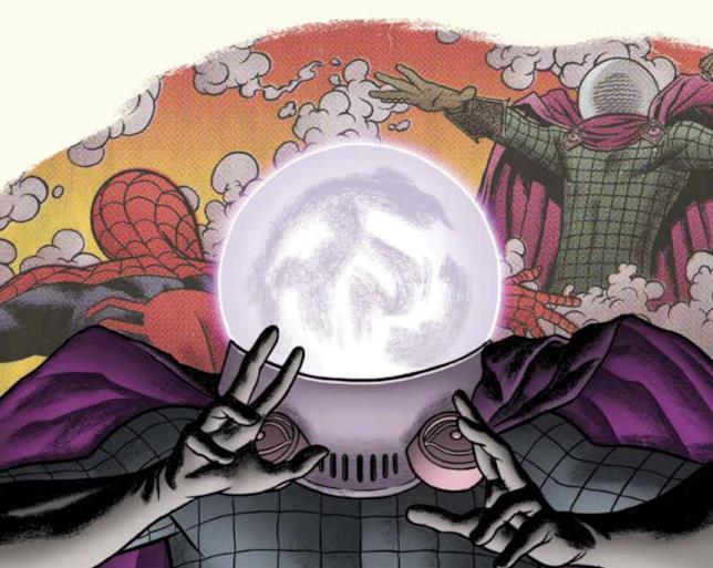 La copertina del volume Spider-Man vs. Mysterio edito da Panini Comics