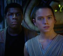 Finn e Rey ne Il Risveglio Della Forza