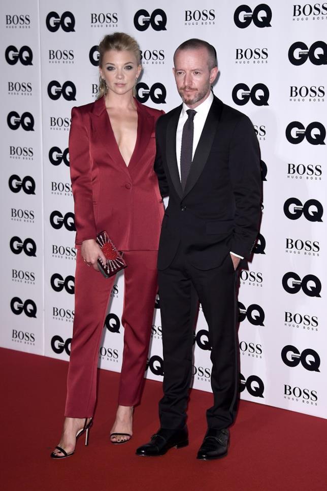 L'attrice Natalie Dormer e il regista Anthony Byrne