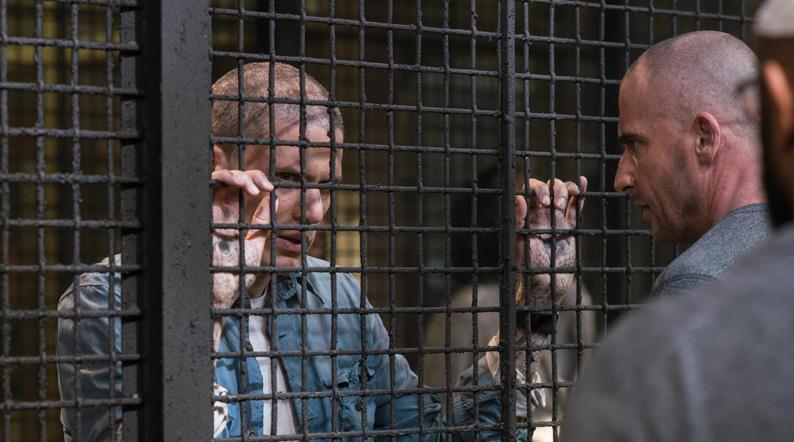 Prison Break, Lincoln Burrows e Michael Scofield