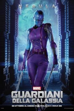 Il character poster di Nebula