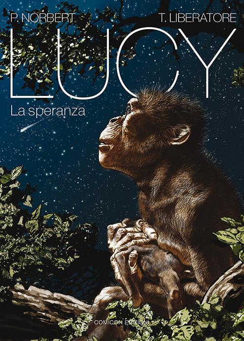 Tanino Liberatore realizza la graphic novel Lucy