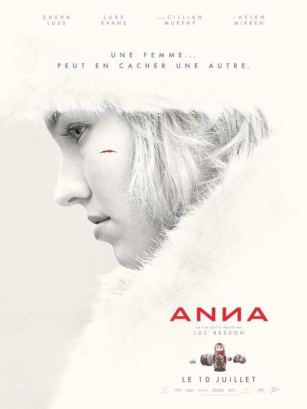 Sasha Luss nel poster ufficiale di Anna