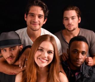 Il cast di Teen Wolf