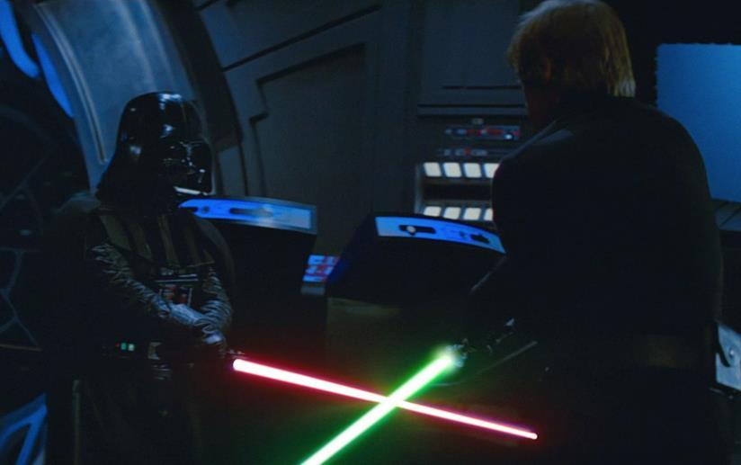 Una scena di Star Wars