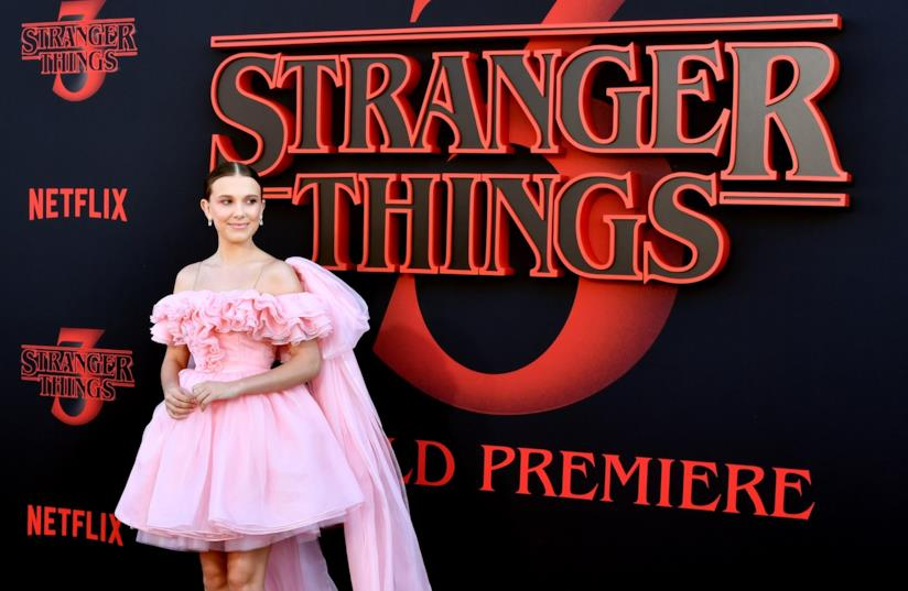 Millie Bobby Brown alla prima di Stranger Things 3