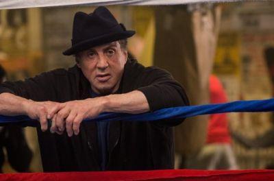 Sylvester Stallone in una scena di Creed - Nato per combattere