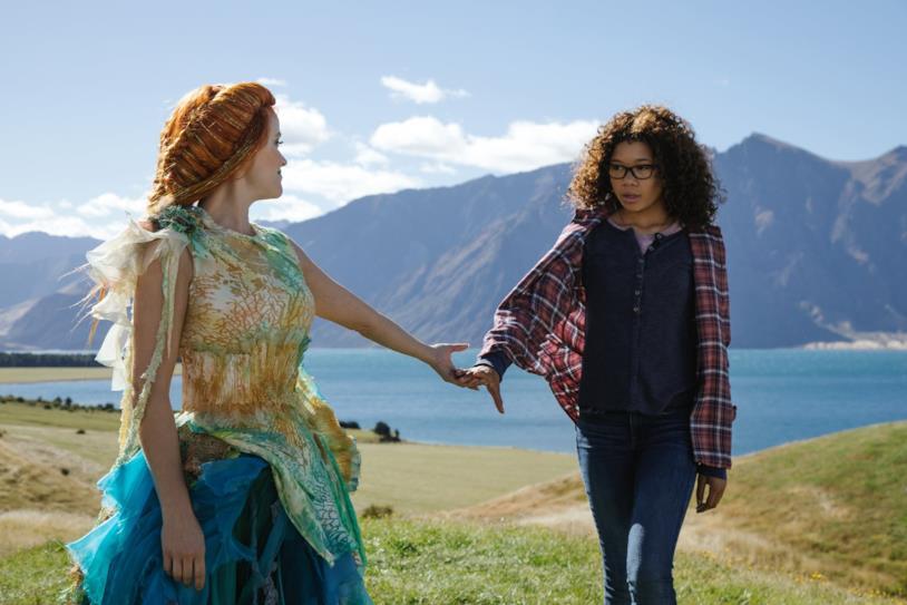 Reese Witherspoon e Storm Reid esplorano un mondo nelle pieghe del tempo