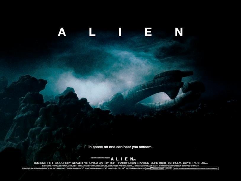 Uno dei poster di Alien