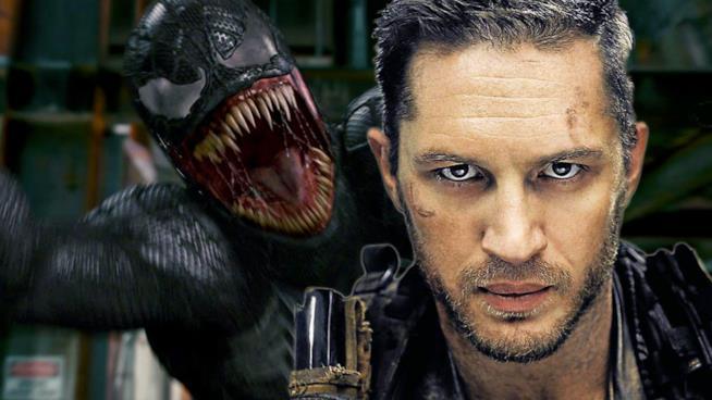 Tom Hardy sarà Venom, nemesi dell'Uomo Ragno