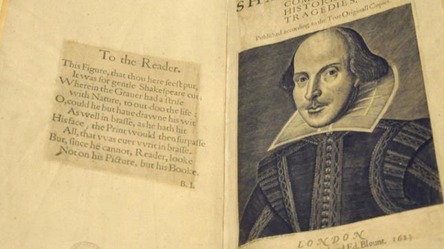 È stato ritrovato un First Folio originale in Scozia