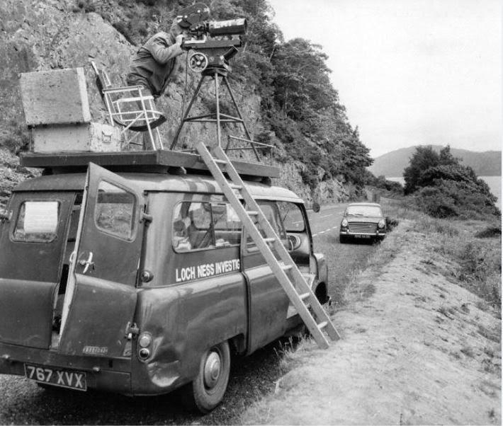 Alcuni membri del Loch Ness Investigation Bureau