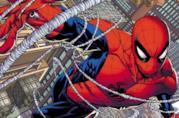 Spider-Man in una pagina dei Marvel Comics