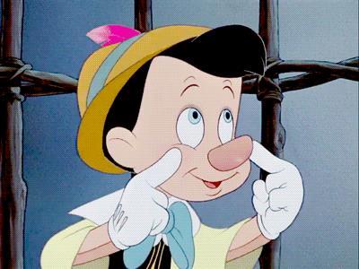 A Pinocchio cresce il naso